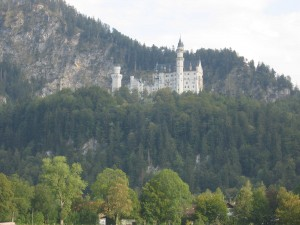 Le Chateau de Neuschwanstein proche de Burggen - Baviere