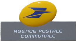 Les horaires de l'Agence postale communale