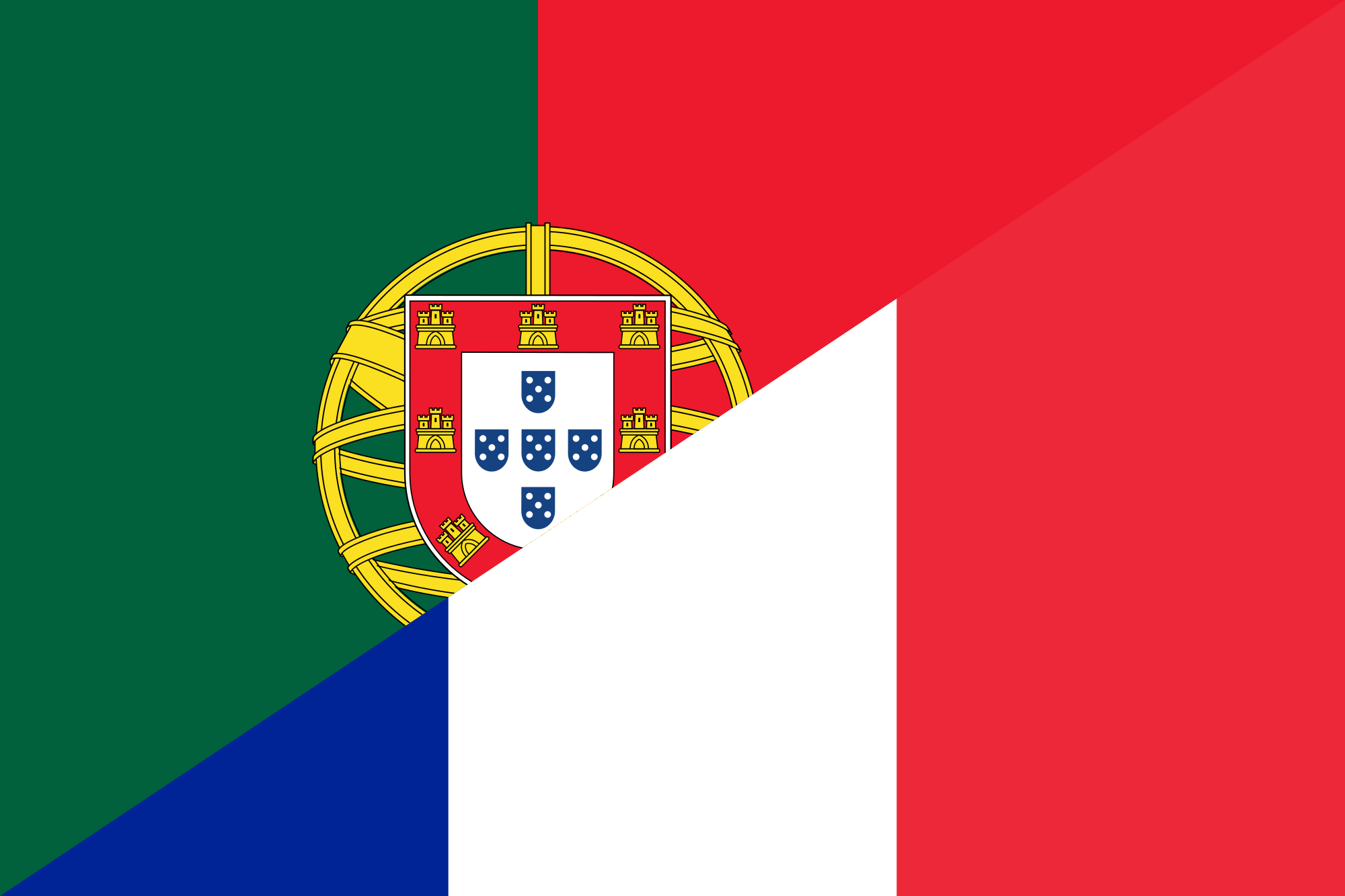 160710_WikiPedia_OpenSource_Flag_of_Portugal_and_France_FootBall_