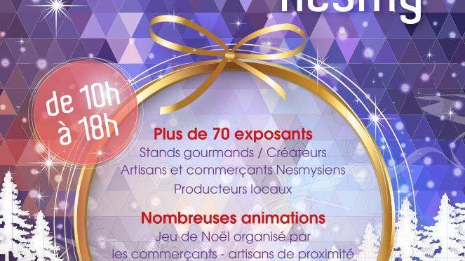 Marché de Noël à Nesmy le 17 dec
