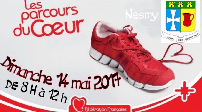 Archives : Les Parcours du Coeur le 14 mai 2017 à Nesmy