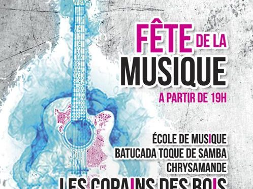 Fête de la Musique à Nesmy le 23 juin 2017