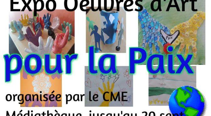 CME : Expo sur la Paix