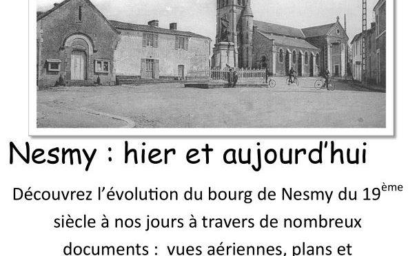 Archives : Médiathèque, expo évolution du bourg de Nesmy