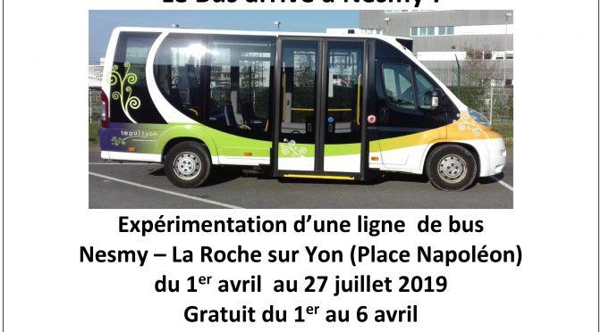 Le Bus à Nesmy